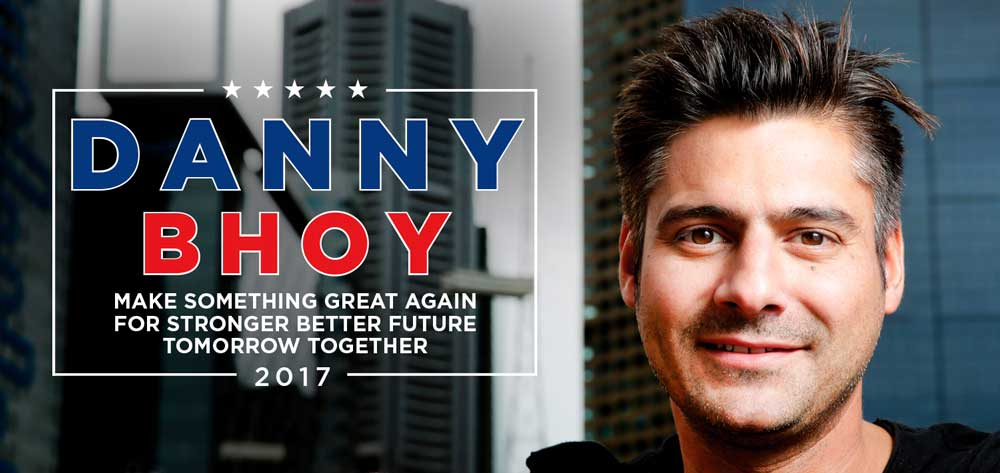 Danny Bhoy - Stand Up comedian